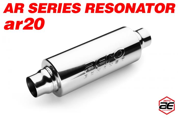 "Aero Exhaust - Aero Exhaust Resonator - ar20 AR Series - 2"" Inside Diameter Necks"