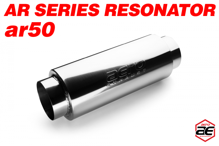 "Aero Exhaust - Aero Exhaust Resonator - ar50 AR Series - 5"" Inside Diameter Necks"