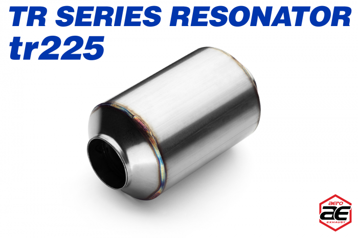 "Aero Exhaust - Aero Exhaust Resonator - tr225 TR Series - 2.25"" Inside Diameter Necks"