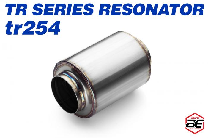 "Aero Exhaust - Aero Exhaust Resonator - tr254 TR Series - 2.5"" Inside Diameter Necks"