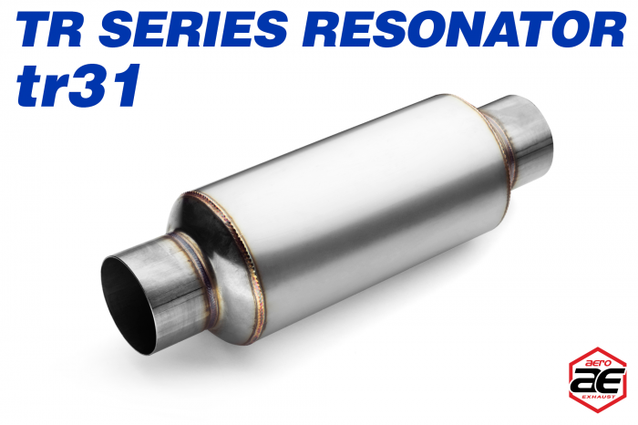 "Aero Exhaust - Aero Exhaust Resonator - tr31 TR Series - 3"" Inside Diameter Necks"