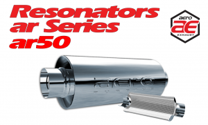 "Resonators - AR - Aero Exhaust - Aero Exhaust Resonator - ar50 AR Series - 5"" Inside Diameter Necks"