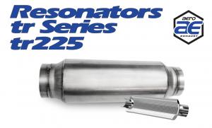 "Resonators - TR - Aero Exhaust - Aero Exhaust Resonator - tr225 TR Series - 2.25"" Inside Diameter Necks"