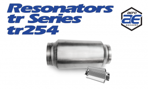 "Resonators - TR - Aero Exhaust - Aero Exhaust Resonator - tr254 TR Series - 2.5"" Inside Diameter Necks"