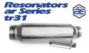 "Resonators - TR - Aero Exhaust - Aero Exhaust Resonator - tr31 TR Series - 3"" Inside Diameter Necks"