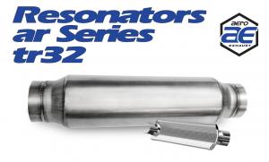 "Resonators - TR - Aero Exhaust - Aero Exhaust Resonator - tr32 TR Series - 3"" Inside Diameter Necks"