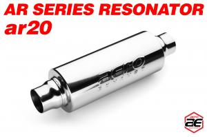 "Aero Exhaust - Aero Exhaust Resonator - ar20 AR Series - 2"" Inside Diameter Necks - Image 1"