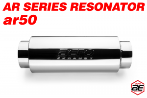 "Aero Exhaust - Aero Exhaust Resonator - ar50 AR Series - 5"" Inside Diameter Necks - Image 2"