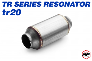 "Aero Exhaust - Aero Exhaust Resonator - tr20 TR Series - 2"" Inside Diameter Necks - Image 1"