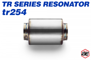 "Aero Exhaust - Aero Exhaust Resonator - tr254 TR Series - 2.5"" Inside Diameter Necks - Image 2"
