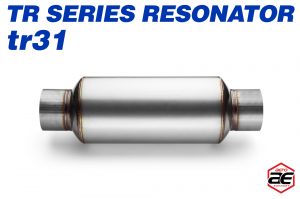 "Aero Exhaust - Aero Exhaust Resonator - tr31 TR Series - 3"" Inside Diameter Necks - Image 2"