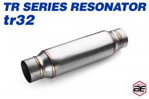 "Aero Exhaust - Aero Exhaust Resonator - tr32 TR Series - 3"" Inside Diameter Necks - Image 1"