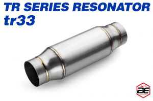 "Aero Exhaust - Aero Exhaust Resonator - tr33 TR Series - 3"" Inside Diameter Necks - Image 1"