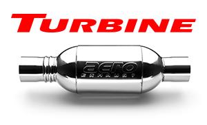 Aero Exhaust 3.5 Inch Resonated Turbine XL Series Performance Muffler AT3535XL