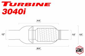 """Aero Exhaust - Aero Exhaust Aeroturbine AT3040i 3"""" Inlet with 4"""" Tip - Image 3"""